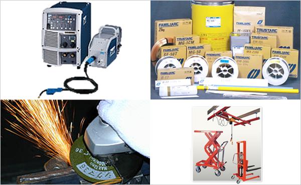 溶接機・溶接材料・産業用機械